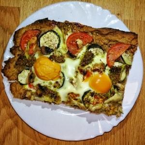 La pizza casera mas facil del mundo para hacer sin saber nada