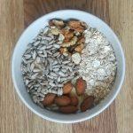 Desayuno post entrenamiento llena de proteina