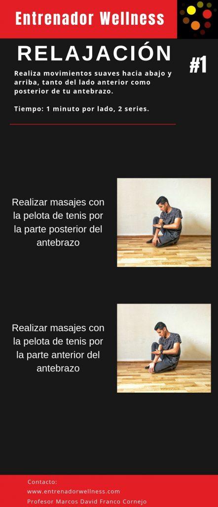ejercicios para relajar el dolor de mueñeca