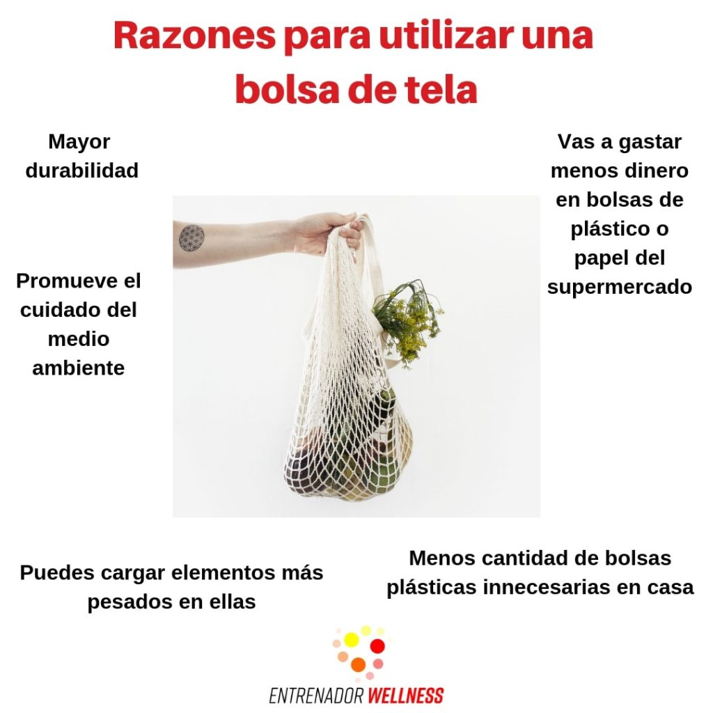 Razones para tener una bolsa de tela