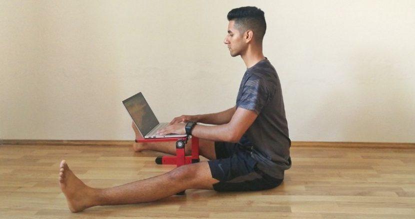 Encuentra alternativas para sentarte correctamente