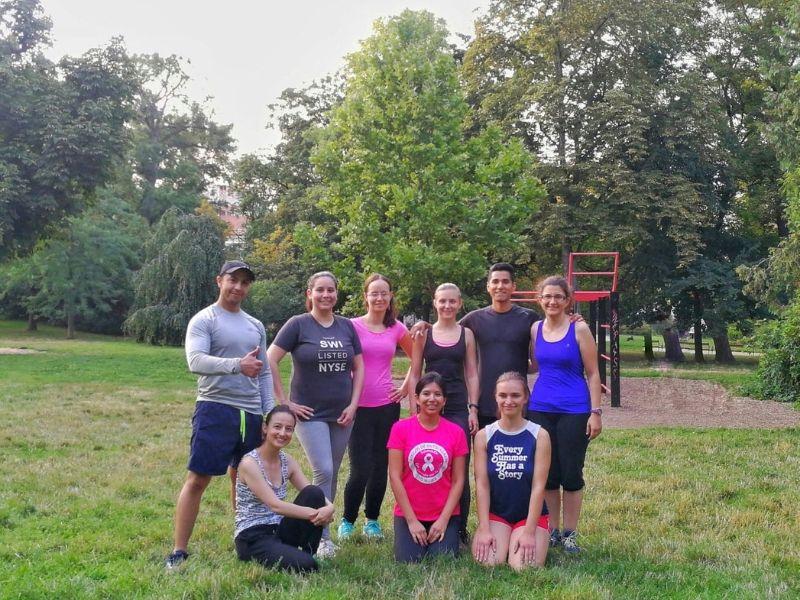 El primer grupo de hispanohablantes que entrenan en Brno