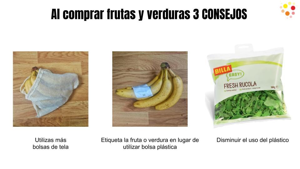 Menos plásticos para mejor nuestro planeta.