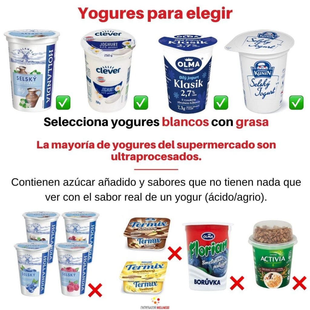 yogur entero para estar saludable en república checa