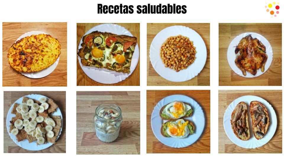 Recetas saludables para hacer en casa. muy fáciles.