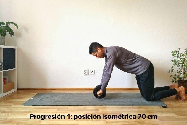 rueda abdominal ejercicio 1