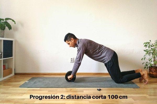 rueda abdominal ejercicio 3