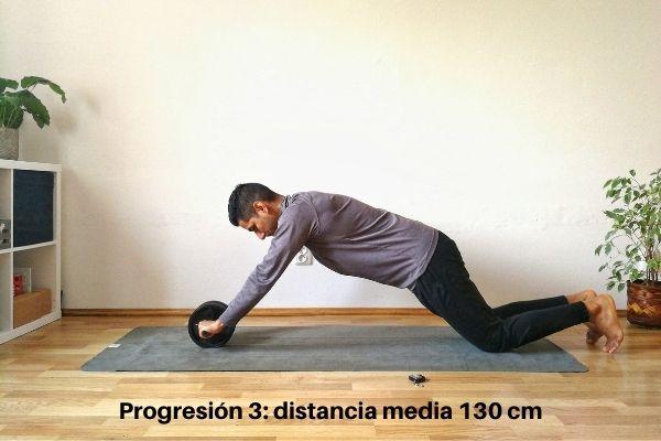 rueda abdominal ejercicios